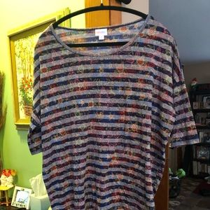 Lularoe Medium Striped Irma